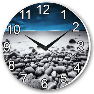 Czds India Natural Stone Wall Clocks with Battery