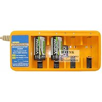 Set Of Huge Cell Charger With 2 C Vipow Rechargeable Batteries 2500 MAh Ni-Cd