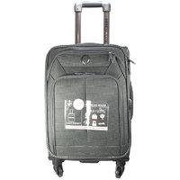 American House 20 Inch 4 Wheel Trolley Bag, Grey