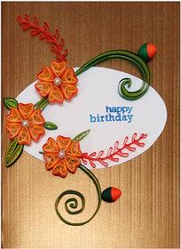 Handmade Birthday Greeting Card 3002
