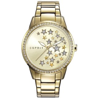 Esprit Quartz Gold Round Women Watch EMZES108502002