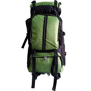 ABSTAR Light yet Spacious Rucksack  - 60 L (Green)