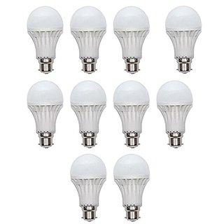 5 Watt LED Bulb(Cool Day Light) 10 Bulb