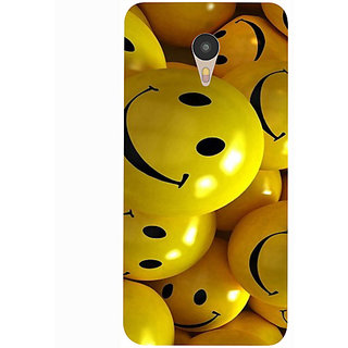 Casotec Smiles Smile Yellow Design 3D Printed Hard Back Case Cover for Yu Yunicorn