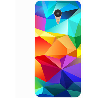 Casotec Colorfull Pattern Design 3D Printed Hard Back Case Cover for Yu Yunicorn