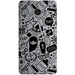 Casotec Discover Or Death Design 3D Printed Hard Back Case Cover for Microsoft Lumia 850