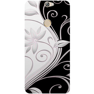 Casotec Black And White Design 3D Printed Hard Back Case Cover for Coolpad Max