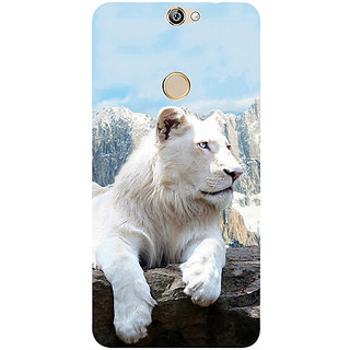 Casotec Snow Lion Design 3D Printed Hard Back Case Cover for Coolpad Max