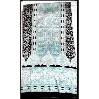 Designer Glace Cotton Unstiched Fabric