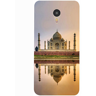 Casotec Taj Mahal Design 3D Printed Hard Back Case Cover for Yu Yunicorn