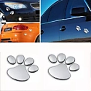CAR STYLING ANIMAL FOOT PRINT 3D DECAL