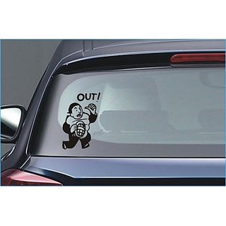 Umpire Decision! Car Truck Window Auto Vinyl Sticker Sticker  24