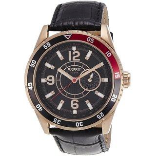 Esprit Quartz Black Round Men Watch Es104131005