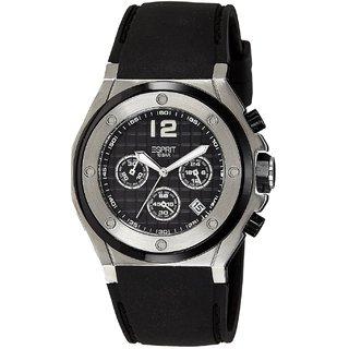 Esprit Quartz Black Round Men Watch Es104171001