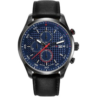 Esprit Quartz Blue Round Men Watch ES108391004