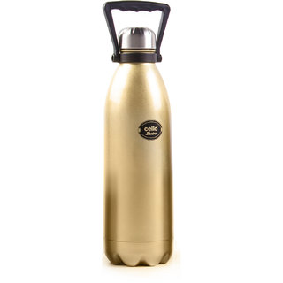 Cello Swift Steel Flask (1500 ml) Golden