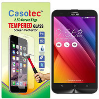 HTCIS 2.5D Curved Edge Tempered Glass Screen Protector For Asus Zenfone 2 Laser Ze550Kl