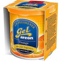 Flying On Wheels Areon Orange Gel Air Freshener For Car
