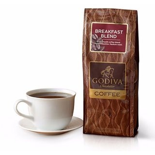 GODIVA BREAKFAST BLEND COFFEE 100 IMPORTED