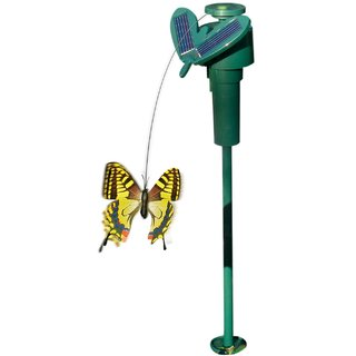 SOLAR BUTTERFLY in (battery operated  solar operated)