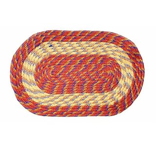 iLiv Chain Multicolor Door mat 14x21 inches