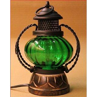 Desi Karigar Electric lamp holder home dcor decorative table lamp hanging lantern stand tea light gift item