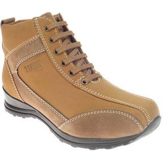 Khadims Turk Tan Brown Cowboy Boots