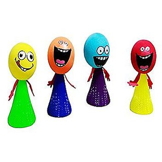 4pcs Jump Doll Bounce Elf  9cm For All Ages