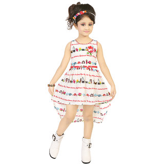 Justkids White Frock