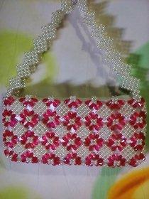 Beads Designer Party Wear Hand Bag