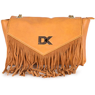 Diana Korr Mustard Sling Bags  DK81SMUS