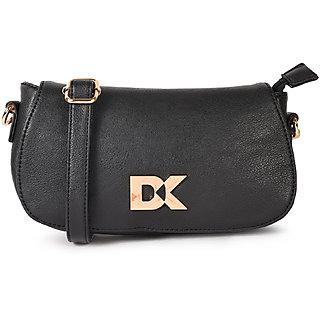 Diana Korr Black Sling Bags  DK83SBLK