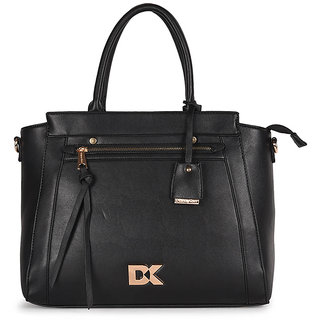 Diana Korr Black Shoulder bag DK74HBLK