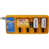 Set Of Huge Cell Charger With 2 SC Beston Rechargeable Batteries 3000 MAh Ni-MH