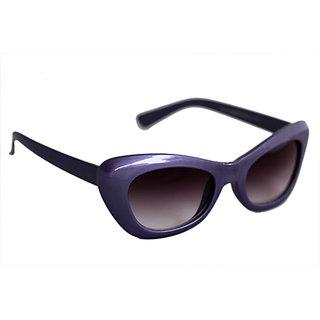 Sunglasses Cat Eye In Rich Purple Shade