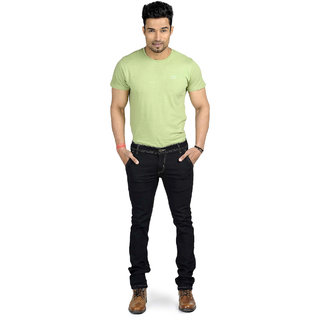 myshka men black jeans