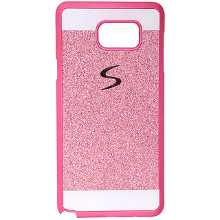 Samsung Galaxy Note 5 Pink Glitter Back Cover