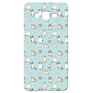 Back Cover for Samsung Galaxy J7  By Kyra AQP3DGLXJ7PTN127
