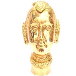 Divine Gods Lord Gauri brass statue and Idol - 15 cms