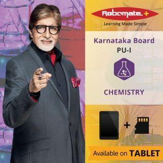Robomate+ Karnataka BoardSciPuIChemistry (Tablet)