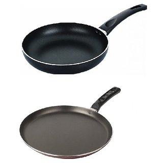 Fabiano 2Pcs Non Stick Cookware set (FRYING PAN+ TAWA)