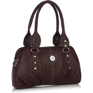 Fostelo Fine Crafted Maroon Handbag