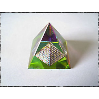 3D VASTU CRYSTAL PYRAMID- FOR VASTU DOSH CORRECTION  POSITIVE ENERGY ENERGIZED