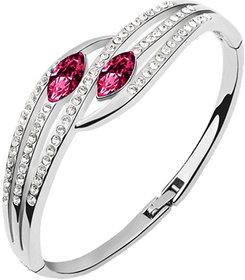 CYAN Pink Austrian Crystal Elegant Bracelet