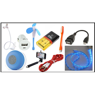 10 IN ONE MEGA COMBO OF MOBILE ACCESSORIES