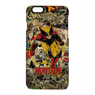 Comic Wolverine Phone Cover for Iphone 6 by Block Print Company