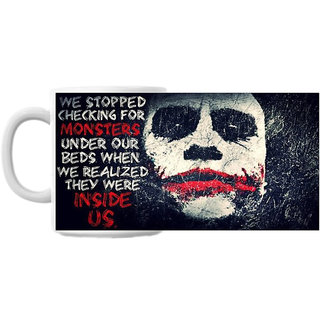 Inside Us Joker Coffee Mug