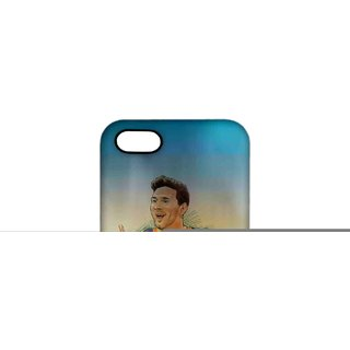 ILLUSTRATED MESSI Phone Cover for iPhone 5 by Block Print Company