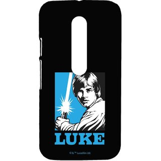 Iconic Luke Phone Cover for Moto G3 by Block Print Company