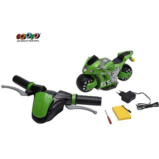 Rc Motorbike With Gravity Induction Real Handle Remote - 4D Moto System 2.4 G Control, Real Simulator Bike